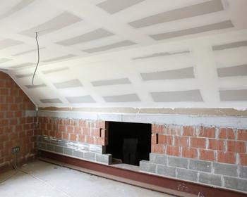 Renovatiewerken Rammon Marc - Gyproc plaatsen